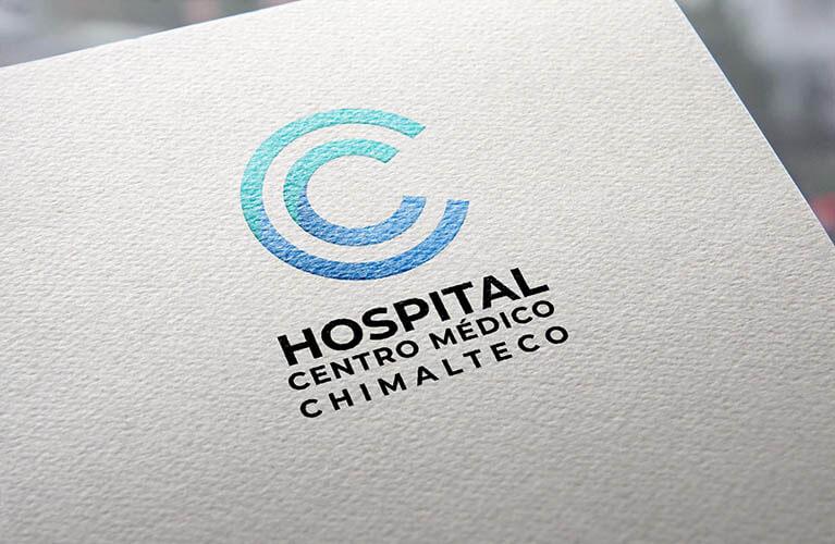 logo de marca para hospital