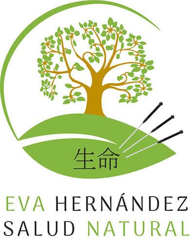 diseño de logo para acupuntura eva