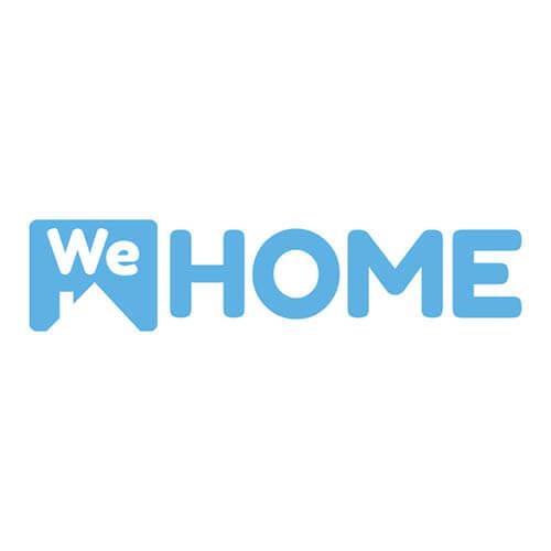 desarrollo de logotipo para  we home