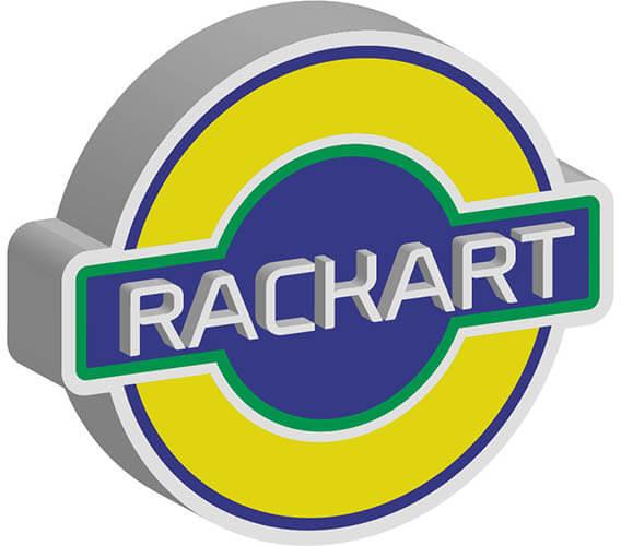 desarrollo de identidad corporativa para rackart