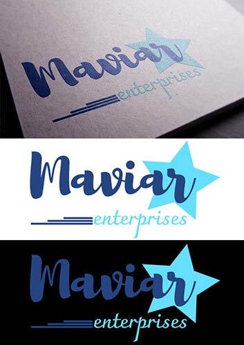 desarrollo de identidad corporativa para maviar enterprises