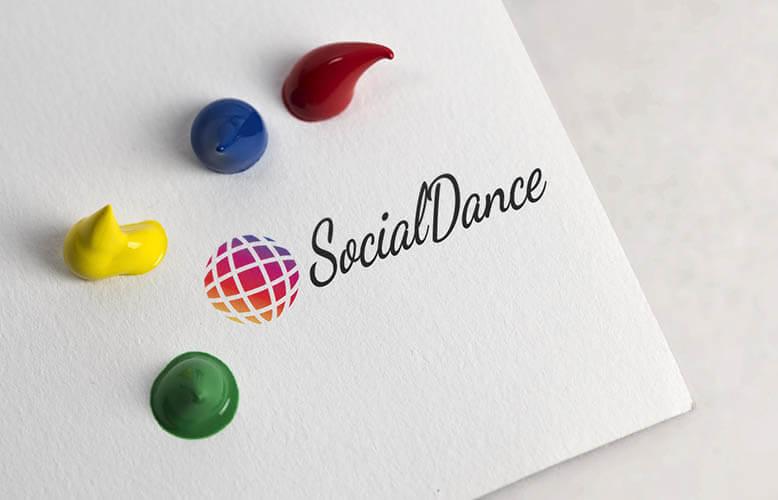 logo de marca para parasocial dance